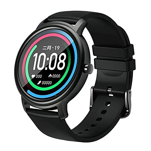 Hombres Y Mujeres Reloj Inteligente Mujeres Hombre IP68 Impermeable Bluetooth 5 Monitor De Suspensión 12 Modo De Entrenamiento Fitness Rasificación Del Corazón Rastreador Smartwatch Android Ios,B