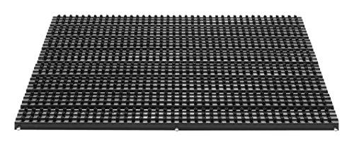 F&S FANTASTIC Dim. 40 x 60 cm TOP Paillasson d'entrée specialement pour l'extérieur, 22 mm d'épaisseur. Extrêmement robust avec système de brosses. Résistant au gel. Couleur noir. Existe aussi en bruin.