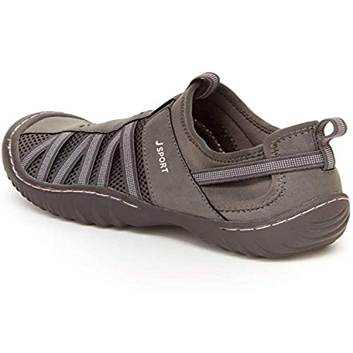 JBU by Jambu womens Arabella Sneaker, Grey/Petal, 9.5 US