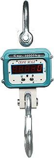 ميزان رافعة رقمي صناعي بوزن 10000 كجم بوزن 9979 كجم - أداة قياس بمقياس تعليق شديد التحمل لرصيف مصنع المزرعة