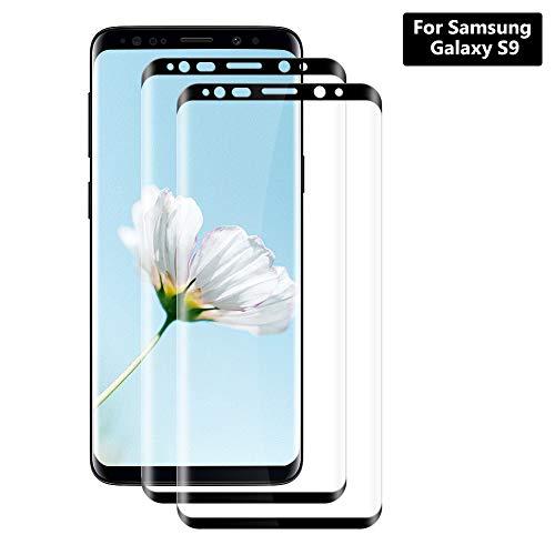 Hanbee Protector Pantalla Xiaomi Mi 8 Lite [3 Unidades], Cristal Templado Xiaomi Mi 8 Lite, Alta Definicion, 9H Dureza, Vidrio Templado Xiaomi Mi 8 Lite