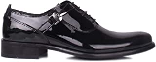Erkan Kaban 801 020 Erkek Siyah Rugan Klasik Ayakkabı 39