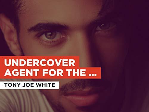 Undercover Agent for the Blues im Stil von Tony Joe White