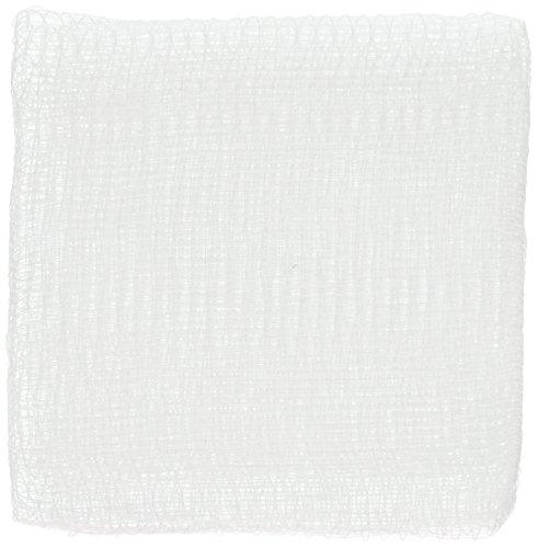 Dukal 4122 Premium White 12-Ply 4' x 4' Gauze Sponges, Non Sterile (DKL4122) Category: Bandages and Dressings (200 Sleeves)