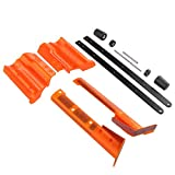 F10555 Worker Mod 3D Printing Pump Kits for Nerf Longshot CS-12 Modify Toy (Orange)