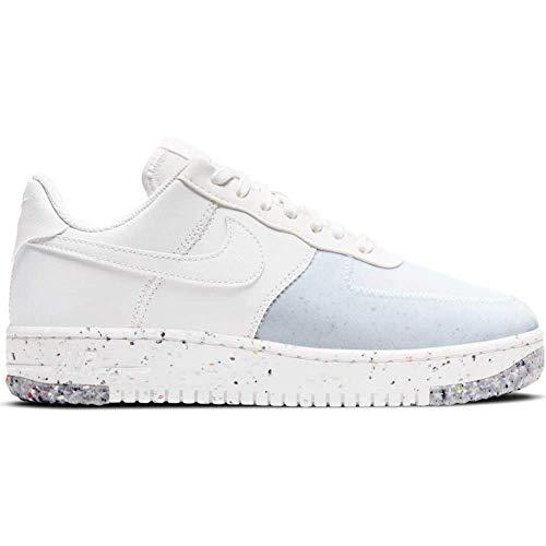 Nike Damen Air Force 1 Crater Basketballschuh, Color Weiß Gender 2, 40.5 EU