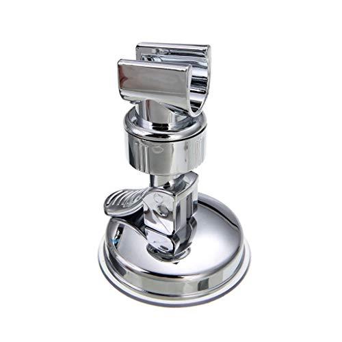 JJZXD La Mano Universal Ajustable Titular de la Ducha Ventosa Holder Completa Revestimiento del Soporte del Cabezal de Ducha Rail Baño rotación Soporte Estable