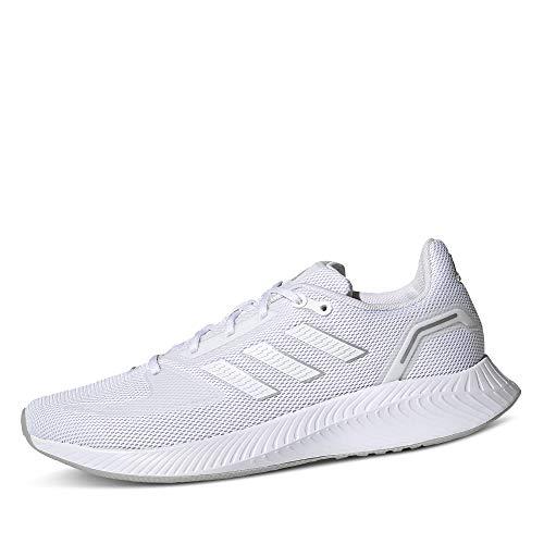 Adidas RUNFALCON 2.0, Zapatillas Mujer, Ftwbla Ftwbla Plamet, 38 2/3 EU