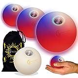 LED Jonglierbälle 3er Set (schnelle Strobe-Effekt RGB)...