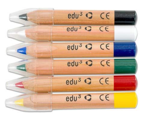 Unbekannt Schminkstifte, Basis-Set, dermatologisch getestet - Kinder schminken Kinderschminke...