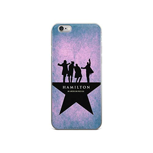 Beamm-Frost Compatible with iPhone 6/6s Case Hamilton Broadway Musical American Pure Clear Phone Cases Cover