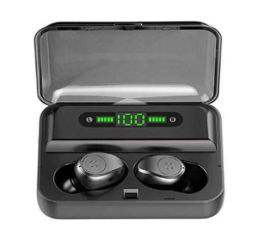 Bluetooth Kopfhörer in Ear, Kabellose Kopfhörer für iOS Android, Inear-Kopfhörer Bluetooth Kabellos, Ear Buds,Bluetooth 5.0,wasserdicht,Bildschirm