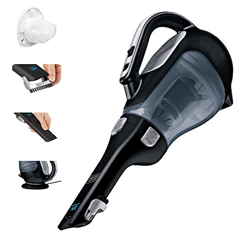 BLACK+DECKER Dustbuster Cordless Handheld Vacuum, Black