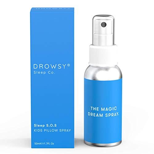 The Magic Sleep Spray: Drowsy Sleep Co. Sleep S.O.S Kids Pillow Spray. Gentle & Effective Sleep aid.