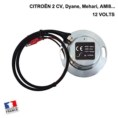 Encendido eléctrico de 12 V – Citroën 2CV, Mehari, DYANE, AMI 8.