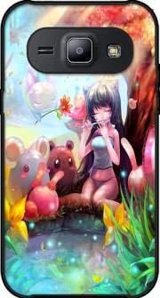 Mobilinnov Coque Samsung Galaxy J1 Rigide Motif Charmeuse Manga de Protection et Personnalisation