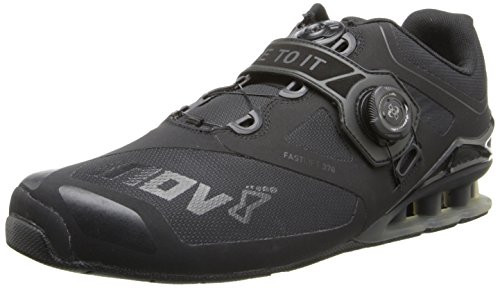 Inov-8 Men's FastLift 370 BOA Cross-Training Shoe,Black,4.5 US