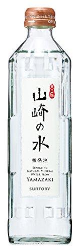 山崎の水(微発泡) 330ml×24本 瓶