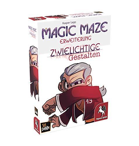 Pegasus Spiele 57203G - Magic Maze: Zwielichtige Gestalten (Erweiterung)