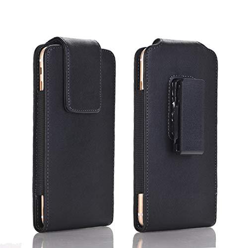 SZCINSEN Funda de cuero para cinturón de hombre con clip para iPhone XR, 11, funda para teléfono móvil, solapa magnética