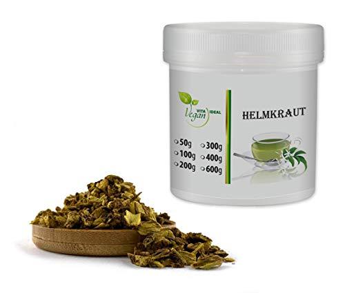 VITAIDEAL VEGAN® Helmkraut Wurzel geschnitten (Scutellaria) 100g, rein natürlich ohne Zusatzstoffe