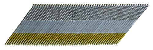Metabo HPT Finish Nails, 2' x 15 Gauge, Galvanized, Angled, For NT65MA4, NT65GAP9, NT1865DMA Finish Nailers, 1000 Count (24204SHPT)