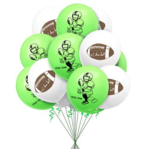 Amosfun 40 Stücke Fußball Ballons Fußball Thema Latex Ballons Kinder Geburtstag Fußball Sport Party Dekoiration Liefert