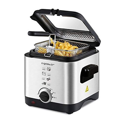 Aigostar Fries 30IZD - Freidora compacta de 1,5 litros, libr