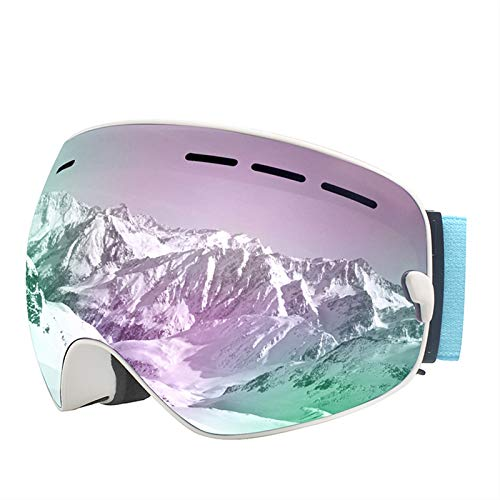 ZPEE Skibrillen Skibrillen-Wechselobjektive hohe Qualität Schneebrille, eine Vielzahl von Optionen Schneesportbrille (Color : D)