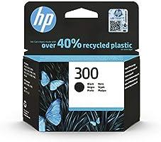 HP 300 CC640EE, Cartucho Original de Tinta Negro , compatible con impresoras de inyección de tinta HP DeskJet D2560,...