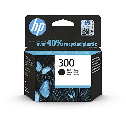 HP 300 CC640EE, Cartucho Original de Tinta Negro , compatible con impresoras de inyección de tinta HP DeskJet D2560, D2660,...