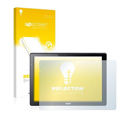 upscreen Entspiegelungs-Schutzfolie kompatibel mit Acer Switch Alpha 12 – Anti-Reflex Bildschirmschutz-Folie Matt