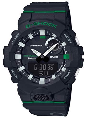 [カシオ] 腕時計 ジーショック 歩数計測 Bluetooth 搭載 GBA-800DG-1AJF メンズ ブラック