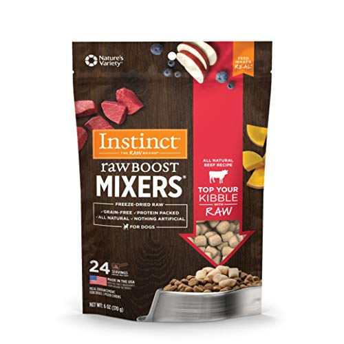 Instinct Freeze Dried Raw Boost Mixers Grain...