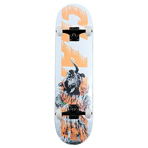 Palazzo Skateboard Clarke bankhead Skateboard completo Arancione 8.25'