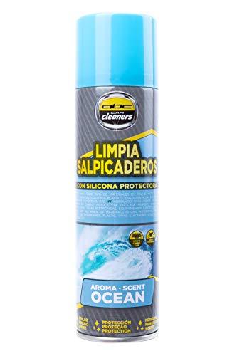 ABC CAR CLEANERS MOT60004 Spray Limpia Salpicaderos Aroma Ocean con Silicona Protectora, 250 ml, Azul
