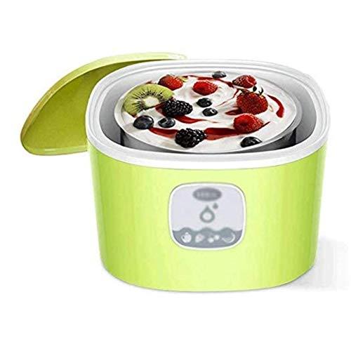 UNU_YAN Moderne Einfachheit Haushaltsjoghurtmaschine, Automatischer Haushalt Kleine Joghurtmaschine Hausgemachte multifunktionale Reisweinmaschine Glasschale Edelstahl-Liner
