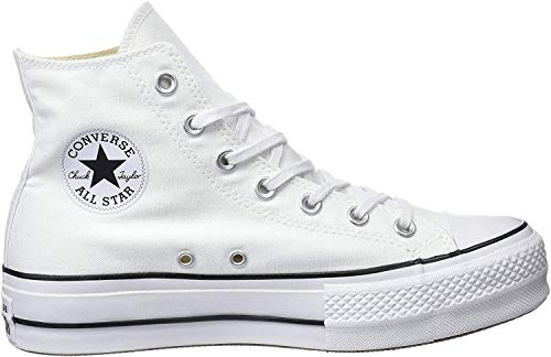Converse CTAS Lift Hi Black/White, Zapatillas Altas Unisex Adulto