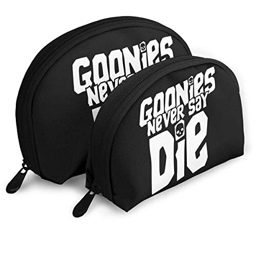 Goonies Never Say Die Filles Maquillage Portable Shell Pouch Sac de Rangement Organisateur Toiletry