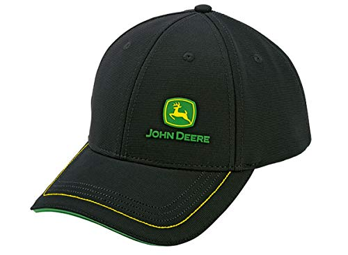 JOHN DEERE Piqué Cap mit gummiertem Logo