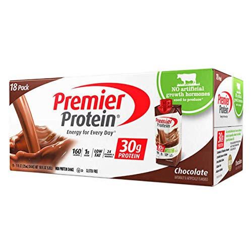 Premier Protein 30g Protein Shakes, 2Pack (18 Count Chocolate Each ), 11 Fluid Ounces, N2DL@ksk