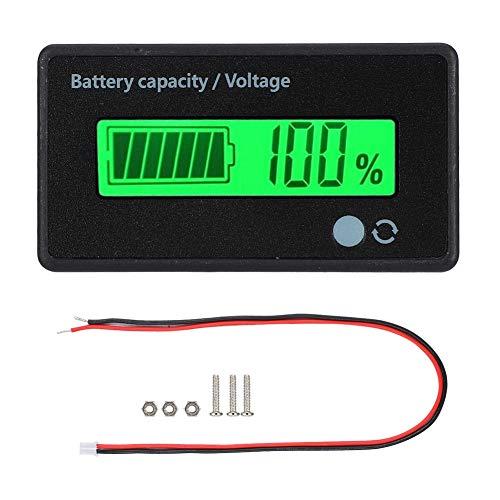 Pantalla LCD de Capacidad de batería con Alarma de luz de Sonido.Monitor...
