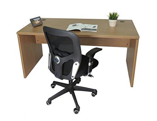 Mesa de Oficina. Euro 2000. Color Nogal Americano. 160x80cm