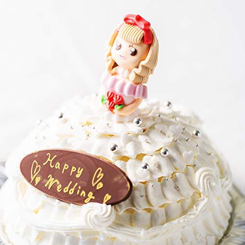 世界に一つだけ 自分で飾り付けのできる プリンセスケーキ 5号 送料無料 お人形が選べます 誕生日ケーキ バースデーケーキ ドールケーキ (スイートレディー)