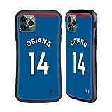Head Case Designs Ufficiale West Ham United FC Pedro Obiang 2018/19 Giocatori Away Kit Gruppo 1 Cover Ibrida Compatibile con iPhone 11 PRO Max