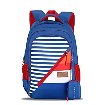 Lavie Sport Spacious Casual Backpack   School College Bag For Girls