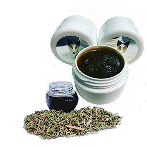 Reine Zertifizierte Bio CBD Creme 10-80%...