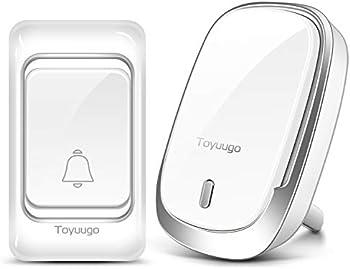 Toyuugo Waterproof Wireless Doorbell Chime Kit