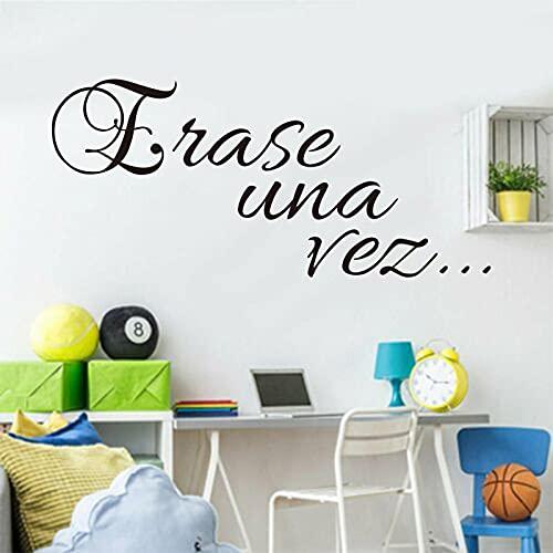 Pegatinas de vinilo para pared, apliques de moda simples, papel tapiz artístico, decoración del hogar, pintura, póster para habitación de niño y niña, A8 26x59cm