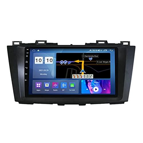 ADMLZQQ para Mazda 5 2010-2015 Android 10.0 In-Dash Radio Estéreo para Automóvil Pantalla Táctil De 9 Pulgadas Bluetooth GPS FM Am DSP Cámara Trasera Control del Volante,M300s8core3+32